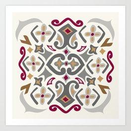 Algiers Art Print