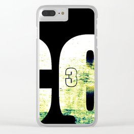 3 Clear iPhone Case