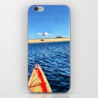 cape cod iPhone & iPod Skins featuring Provincetown, Cape Cod, MA by molliemacks