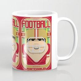 American Football Red and Gold - Enzone Puntfumbler - Victor version Coffee Mug