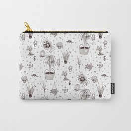 greenery pattern Carry-All Pouch