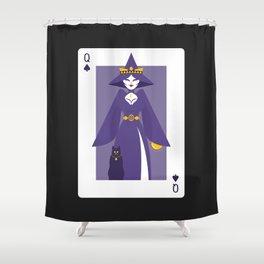 Queen of Spades - Queen Witch Shower Curtain