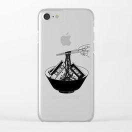 Enjoy Your Meal Clear iPhone Case