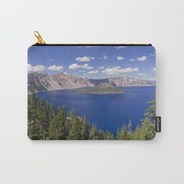 Wizard Island in Crater Lake Carry-All Pouch