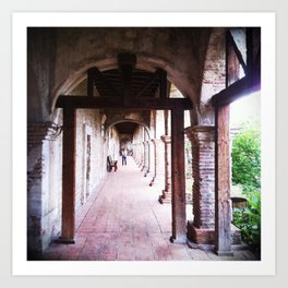 The Corridor Art Print