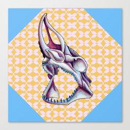 CalaveraPOP Shark. Canvas Print