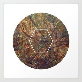 Geometrie #5 Art Print