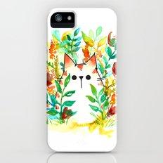 Garden Cat Slim Case iPhone (5, 5s)
