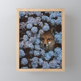 gaps and silences Framed Mini Art Print