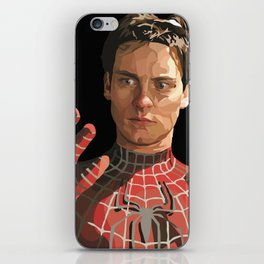 toby maguire iPhone Skin