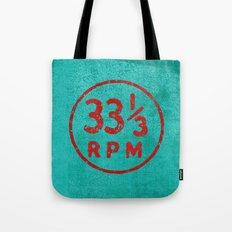 33 & a third RPM Circle Tote Bag