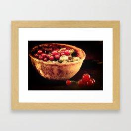 Berry mixed Framed Art Print