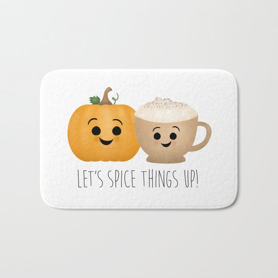 Let's Spice Things Up! Bath Mat