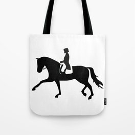 Dressage Rider Tote Bag