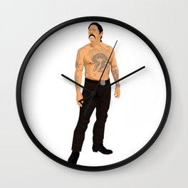 Bare Trejo Wall Clock