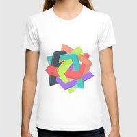 origami T-shirts featuring Origami by Renata Esteves