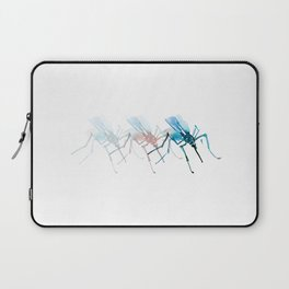 Mosquitoes / Abstract animal portrait. Laptop Sleeve