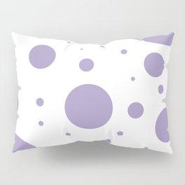 Lavender Bubbles Print Pillow Sham