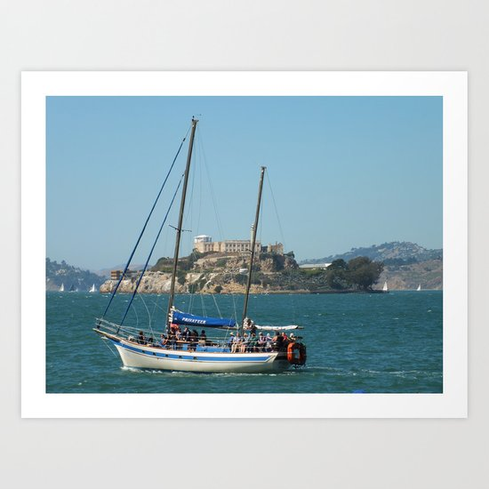 Escape from Alcatraz Art Print