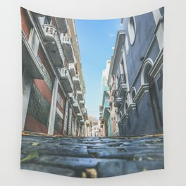 Puerto Rico Streets Wall Tapestry