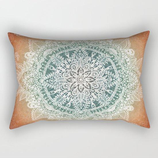 Burning With Desire Rectangular Pillow