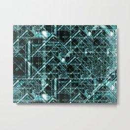 Integrated Circuit Metal Print