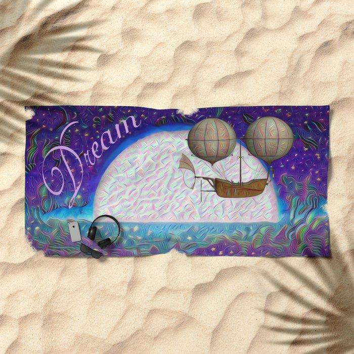 Halcyon Dreams Beach Towel