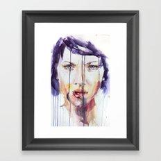 Portraint 1 Framed Art Print