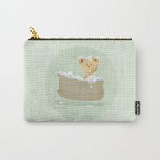 Teddy Bear in Bathtub  Carry-All Pouch