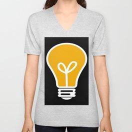 Lightbulb Unisex V-Neck