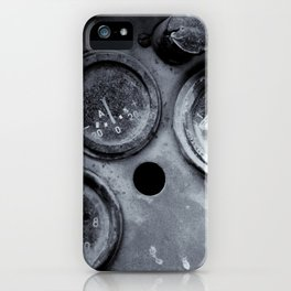 Vehicle Dials in Dust iPhone Case