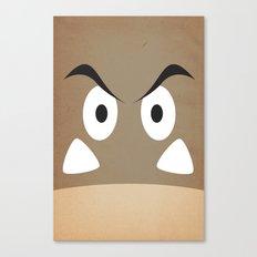 minimal shroom Canvas Print