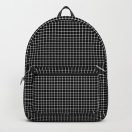 Black and White Optical Illusion Backpack