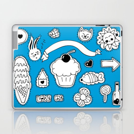 Sticker World Laptop & iPad Skin