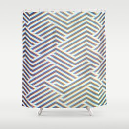 3D Labyrinth Shower Curtain