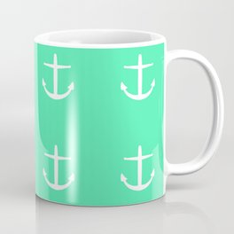seafoam anchors Coffee Mug