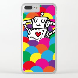 Ballpit Clear iPhone Case