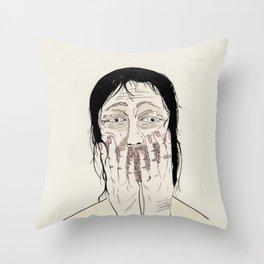 Overjoyed Throw Pillow