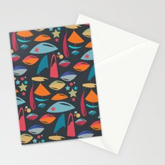 Abstract Atomics 2 Stationery Cards