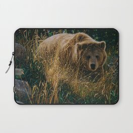 Brown Bear - Crossing Paths Laptop Sleeve