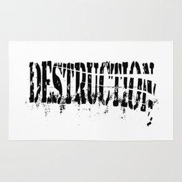 Destruction Rug
