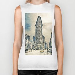 Flatron Building - New York City Biker Tank