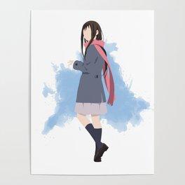 Noragami Minimalist (Hiyori) Poster