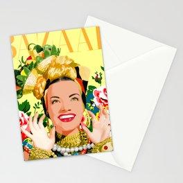 CARMEN MIRANDA Stationery Cards