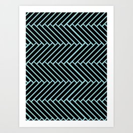 Criss Cross. Art Print