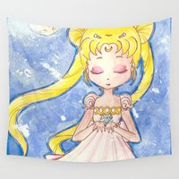 serenity Wall Tapestries featuring Serenity by Lilolilosa