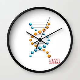 Basketball It's In My DNA Funny Hoops Player Wall Clock