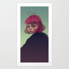 queenpink Art Print