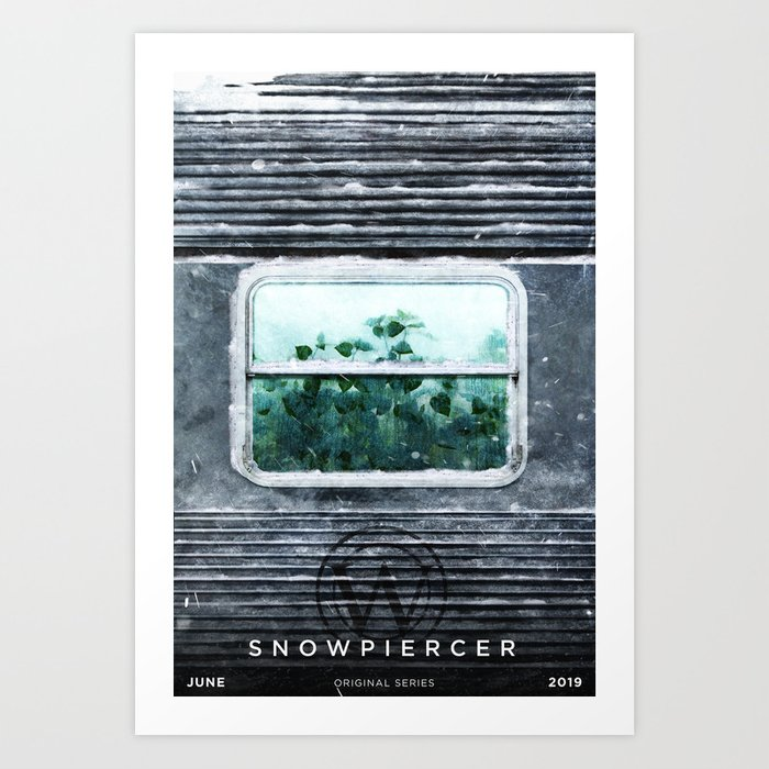 Snow Piercer Poster Art Print