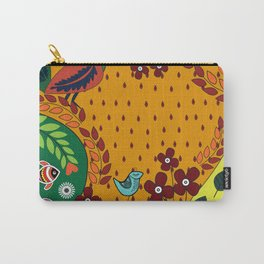 Pattern X Carry-All Pouch
